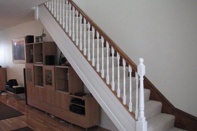 Before And After #2. Circular Stair Upgrade
